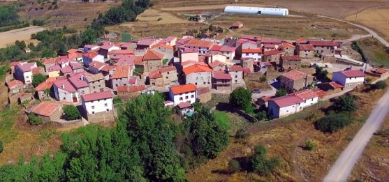 Vista aérea de la localidad. /Dr.Nefario