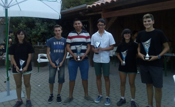 Ganadores del torneo.