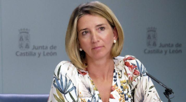 La consejera de Familia e Igualdad, Alicia García, este jueves.