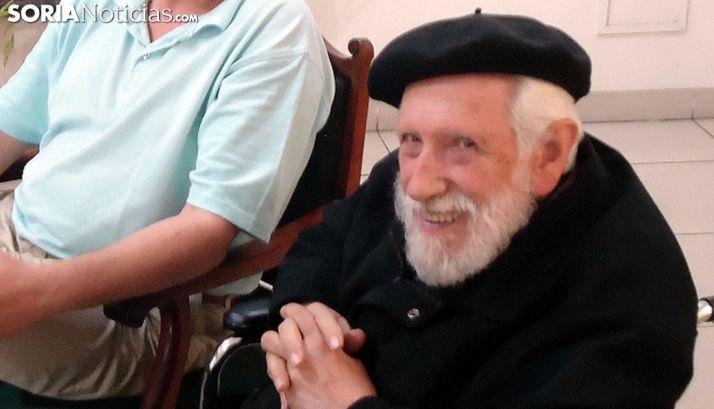 El padre Artola, uno de los mayores eruditos sobre la obra de la Madre Ágreda. /SN