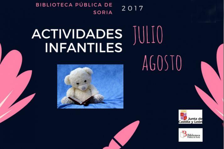Talleres en la Biblioteca Pública de Soria para el verano