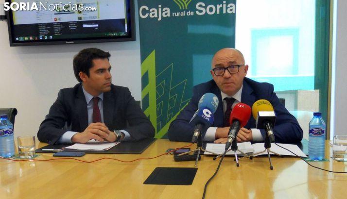 Domingo Barca (dcha.) y Diego Vizcaíno. /SN