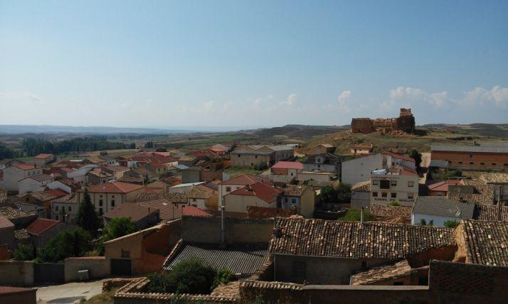 Imagen del castillo de Serón de Nágima.