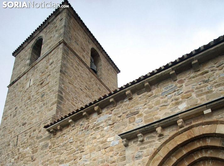 Detalle de la iglesia de Cerbón./SN