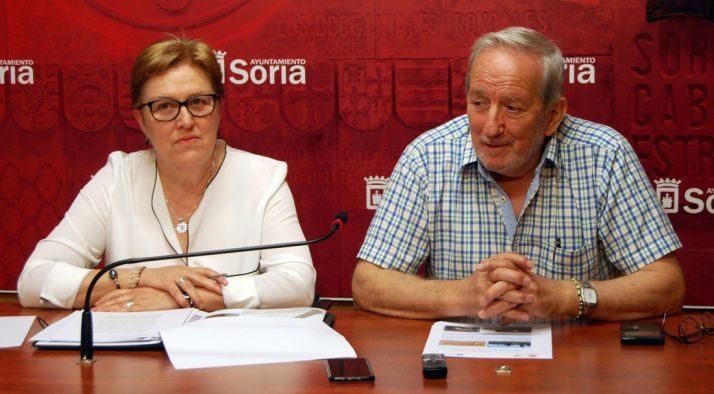 Carmen Frías y Jesús Bárez.
