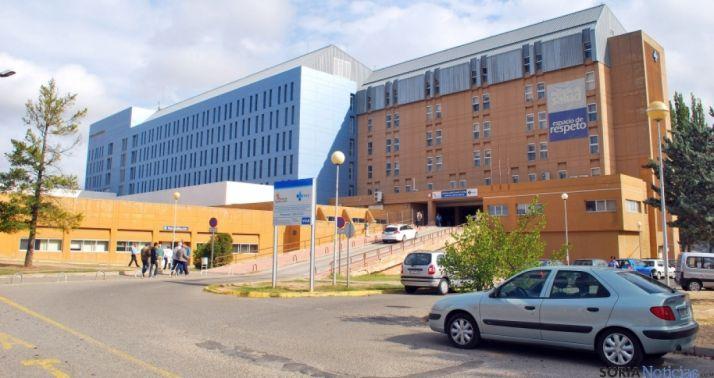 Imagen del hospital de Santa Bárbara. /SN