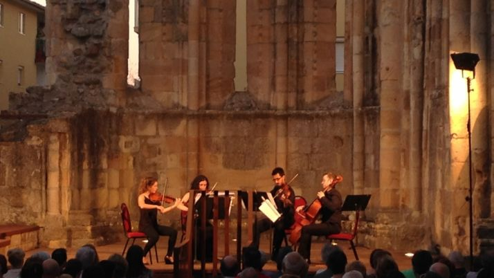 Ensemble Durius durante un concierto. / ED.