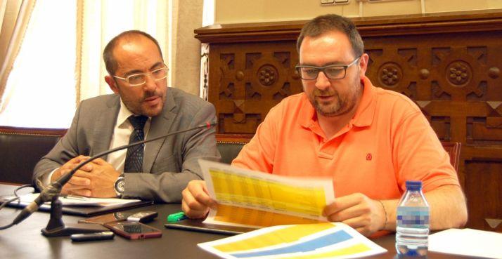 Luis Rey (izda.) y Pedro Casas.
