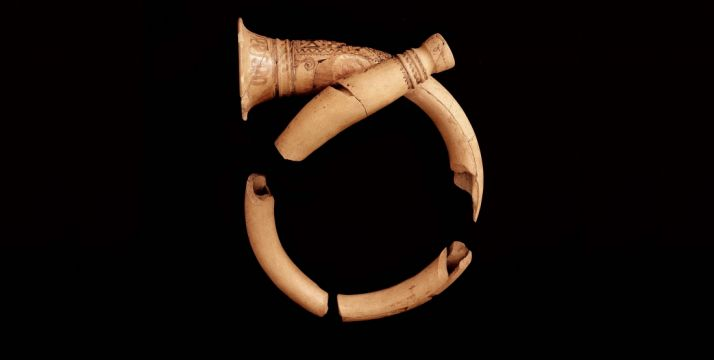 Una de las piezas de la muestra en el museo./Jta.