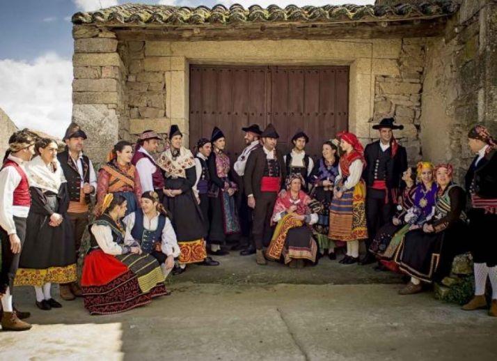 Grupo internacional zamorano Don Sancho.