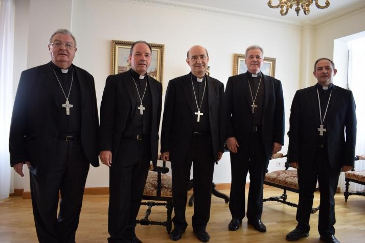 Foto 1 - Reunión de los Obispos de la provincia eclesiástica de Burgos