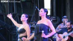 Ujno de los instantes del concierto. /SN