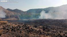 Una imagen del incendio./SN