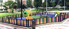 Así será el parque infantil de La Barriada./Ayto.