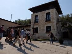 """Los """"sonorámicos""""  cierran el festival recorriendo las bodegas de la Ribera del Duero"""
