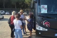 """Foto 3 - Los """"sonorámicos""""  cierran el festival recorriendo las bodegas de la Ribera del Duero"""