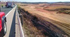 Imagen el lugar del incendio./SN