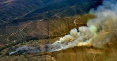 Imagen del incendio./BRIF
