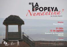 Cartel de 'La Epopeya Numantina'.