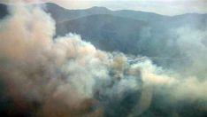 Imagen aérea del incendo./Jta.