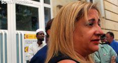 De Gregorio, este viernes a las puertas de la Subdelegación del Gobierno en Soria. /SN
