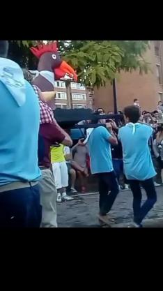 Foto 3 -  Quema del Gallo Roque en Ágreda