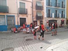 Foto 5 - Calurosa primera jornada de las fiestas del Burgo