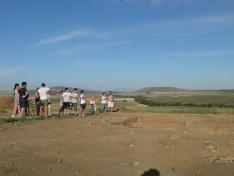 Foto 2 - Una veintena de jóvenes de toda España participan en el campo de trabajo 'La Numancia celtibérica'