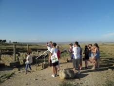 Foto 3 - Una veintena de jóvenes de toda España participan en el campo de trabajo 'La Numancia celtibérica'