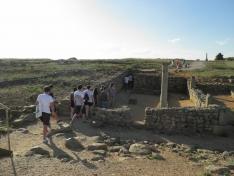 Una veintena de jóvenes de toda España participan en el campo de trabajo 'La Numancia celt