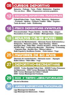 Foto 2 - Consulta aquí todos los cursos de la campaña deportiva municipal de Soria