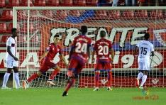 Numancia 1 - Huesca 0 Premio merecido