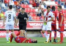 Foto 3 - Numancia 1 - Huesca 0 Premio merecido