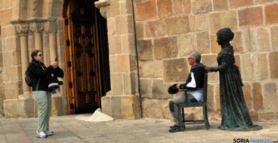 Turistas en Soria. /SN