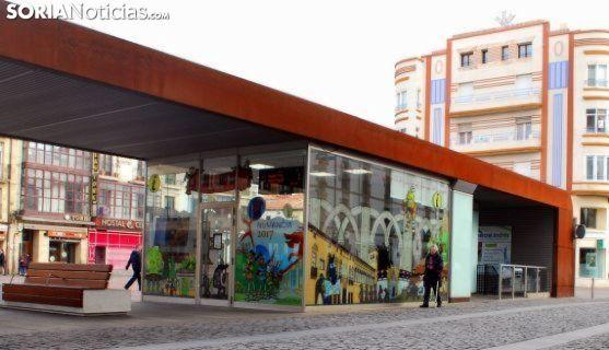 Oficina de turismo en Granados./SN