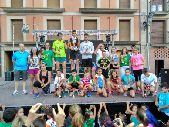 Ganadores de la Carrera Popular Femín Cacho.