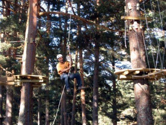 Parque de aventura en El Amogable.