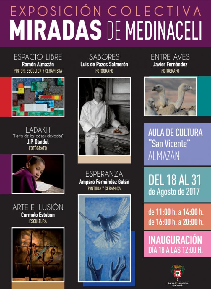 Foto 1 - La exposición 'Miradas de Medinaceli' puede visitarse hasta el 31 de agosto en la localidad