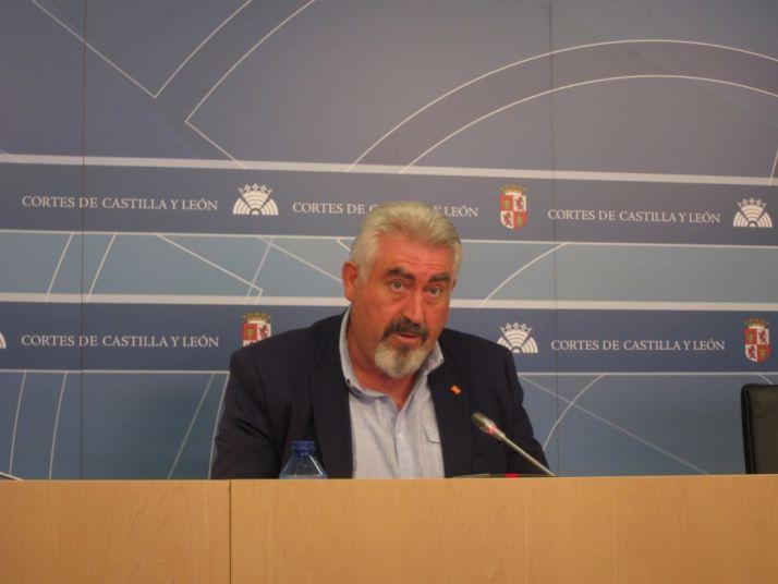 Delgado Palacios, procurador C's en las Cortes. / EP
