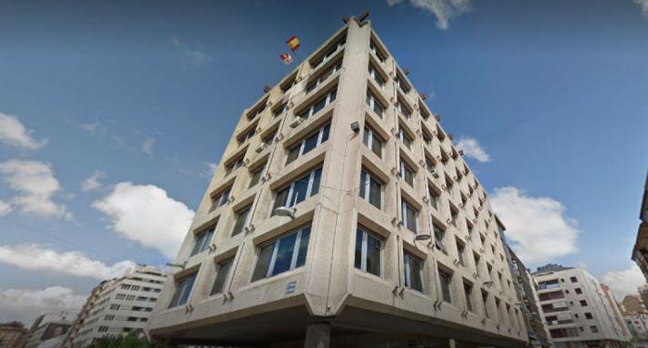 Edificio de la Gerencia Territorial de Servicios Sociales en Soria.