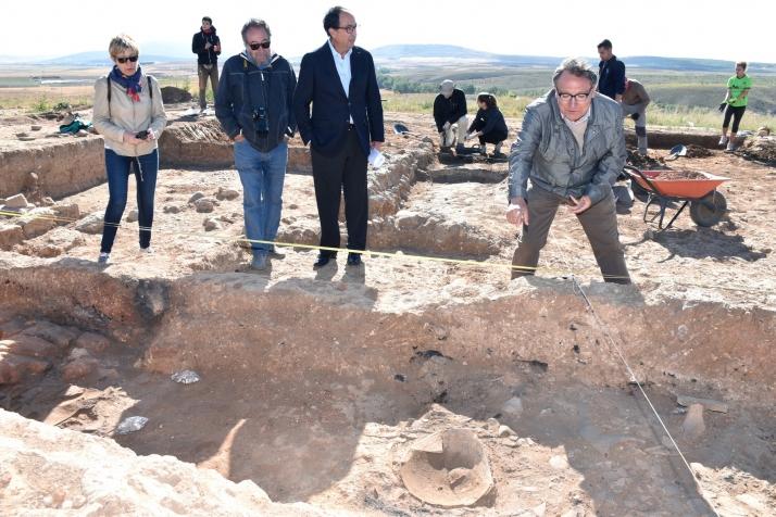 Foto 1 - Las excavaciones de Numancia avanzan en la investigación de la manzana XXIV