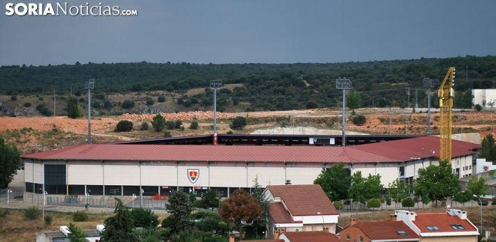 Imagen del estadio este miércoles./SN