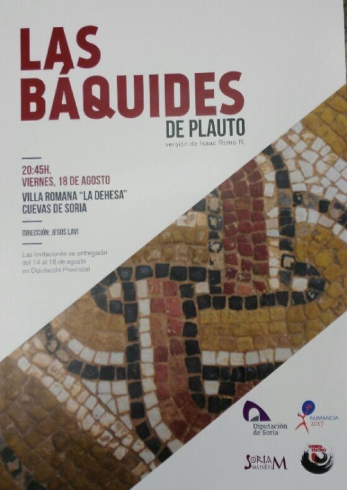 Foto 1 -  Representación de 'Las Báquides' de Plauto el día 18 en Las Cuevas