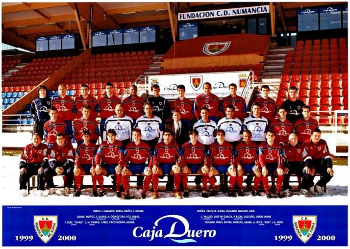 Foto 1 - 18 años del debut del Numancia en Primera. Gol de Rubén Navarro