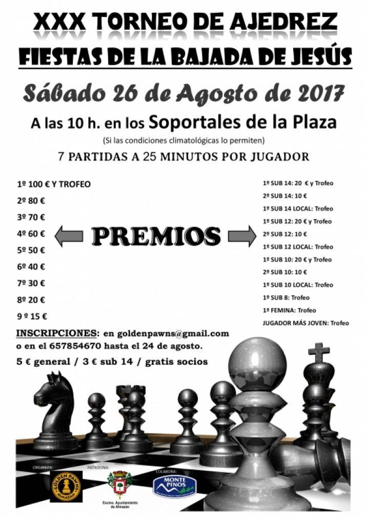 Foto 1 - Almazán organiza la XXX edición del torneo de ajedrez
