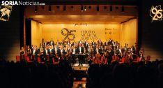 La Orquesta Sinfónica de RTVE este viernes./SN