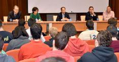 Imagen de la apertura del curso en el Centro Integrado de Formación Profesional adnamantino.
