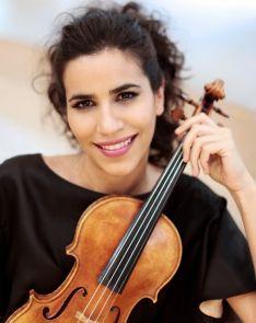 La violinista Ana María Valderrama.