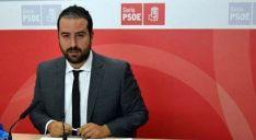 Ángel Hernández, procurador del PSOE./SN