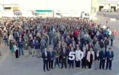 Imagen de la celebración del aniversario de la cooperativa.